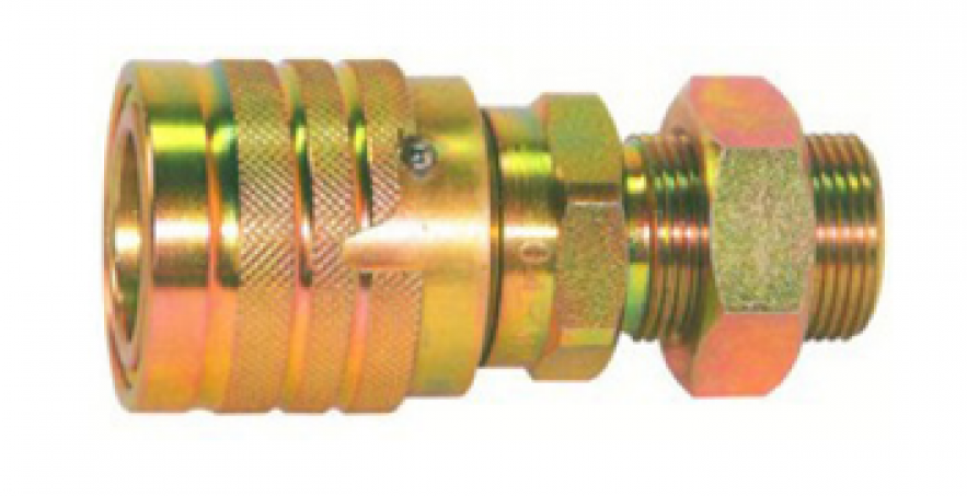 CPC-CNV USE FOR INDUSTRIAL AUTOMATIC LOCKED TYPE DOUBLE SHUT OFF QUICK COUPLING