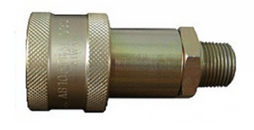 FB8 JACK STEEL BALL DOUBLE SHUT-OFF TYPE QUICK COUPLING