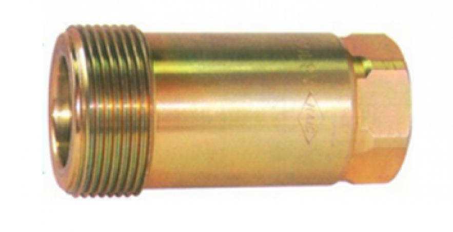 FV8 USE FOR INDUSTRIAL DOUBLE SHUT-OFF QUICK COUPLING